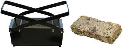 Make paper log briquettes
