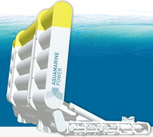 Oyster wave power converter - Aquamarine Power