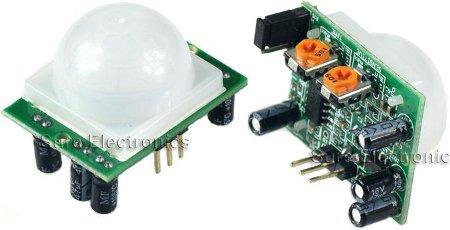 Pyroelectric PIR motion sensor module