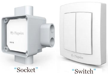 Plugwise socket and switch - new products for Q4 2008