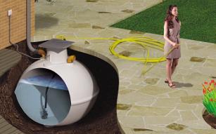 Raintrap - Garden watering system - Rainwater harvesting.