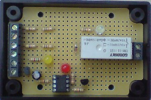 Relay board for rainwater toilet flushing pump controller