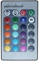 Remote control for colour change LED spotlight