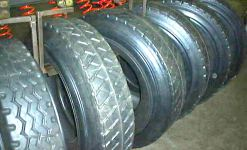 Retread tyres to save energy and money