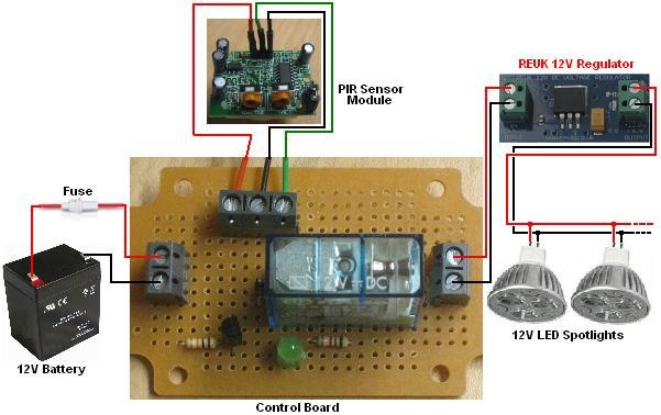 Cheap Pyroelectric Infrared Pir Detector