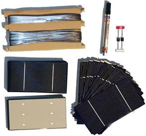 how to build a solar cell from scratch