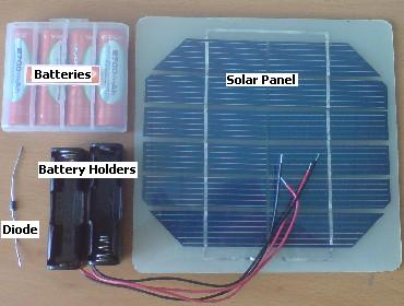 Solar Battery Charger Parts