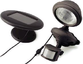 Solar Mate Secure 1 - Solar powered PIR motion detector with built in LED spotlight.