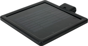 Solar panel for motion detecting (PIR) security spotlight