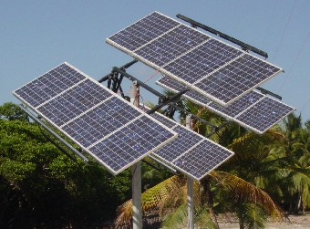 Solar trackers are used to increase solar output