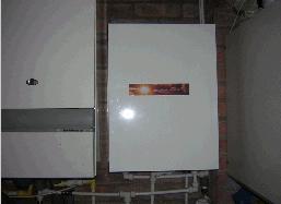 Solar storage combi boiler pre-heating system