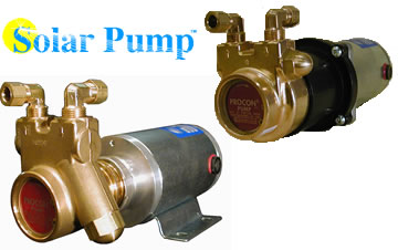 12V closed loop low flow solar pumps for solar water heating systems.