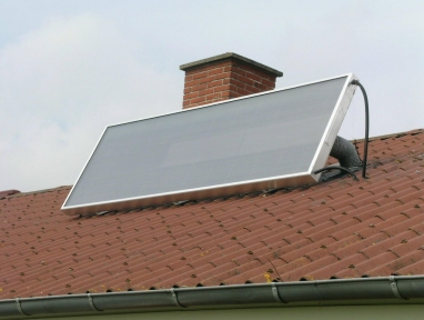 SolarVenti - solar panel to heat air and remove moisture to eliminate condensation problems