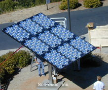 2.25kW concentrator photovoltaic system