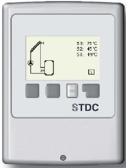 Sorel STDC temperature difference controller for solar water heating systems