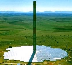 Solar Tower Prototype, Spain