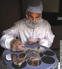Multijunction solar cell research at Spectrolab