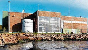 Statkraft osmotic power plant in Norway