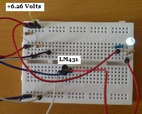 Testing an LM431 Voltage Monitor