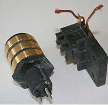 Three phase slip ring for a wind turbine generator