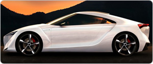 Toyota FT HS Hybrid Sports Concept Car