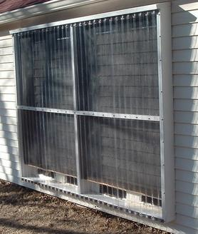 How To Build A Window Box Solar Heater
