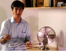 Windbelt innovator Shawn Frayne