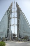 Integrated Wind Turbines in Bahrain Skyscraper