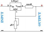 LM317 Adjustable Power Supply
