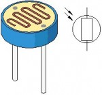 LM741 Light Dark Sensor Circuit