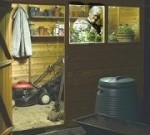 Shed and Garage Solar Lighting