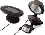 Solar Powered Security Spotlight