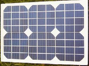 12 VOLT 15 WATT SOLAR PANEL. Waterproof 12 Volt 15 Watt monocrystalline solar panel with aluminimum frame with 5 metre long fitted leads