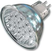 12V LED SPOTLIGHT BULB. 12V LED MR16 bulb. 15 pure brilliant white LED (colour 8000K) 1.3 Watt bulb