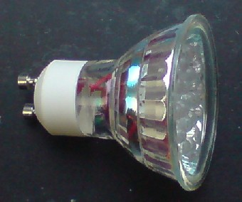 Energy efficient LED spotlight bulb