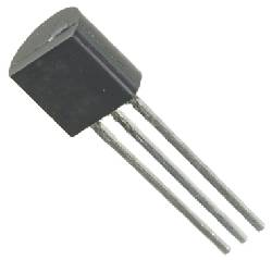 LM335Z TEMPERATURE SENSOR. Precision temperature sensor for minus 40 to 100 degrees Celcius