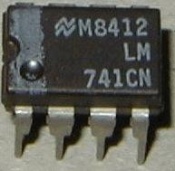 LM741 Operation Amplifier integrated circuit