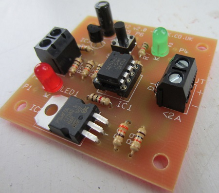 MINI 12V PROGRAMMABLE LOW VOLTAGE DISCONNECT LVD. Protect your 12 volt batteries from being overly discharged