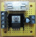 Voltage Regulators - MINI 12 VOLT REGULATOR WITH FUSE AND SWITCH TERMINALS