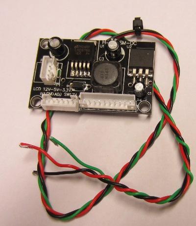 Raspberry pi voltage regulator