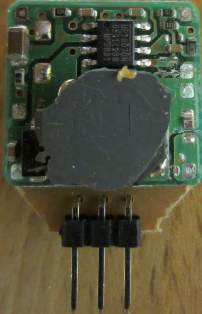 9V from 12V regulator module - 4 Amps