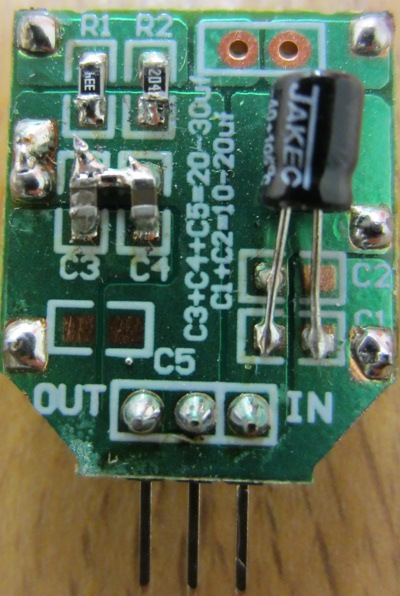 L7809 alternative - high current 4 Amps 9V output regulator