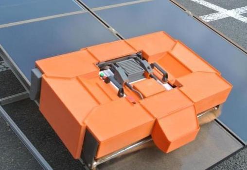 Miraikikai solar panel cleaning robot