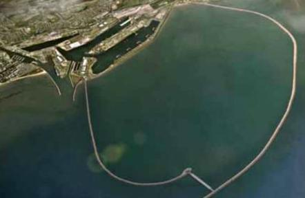 Proposed Swansea Bay Lagoon - tidal power