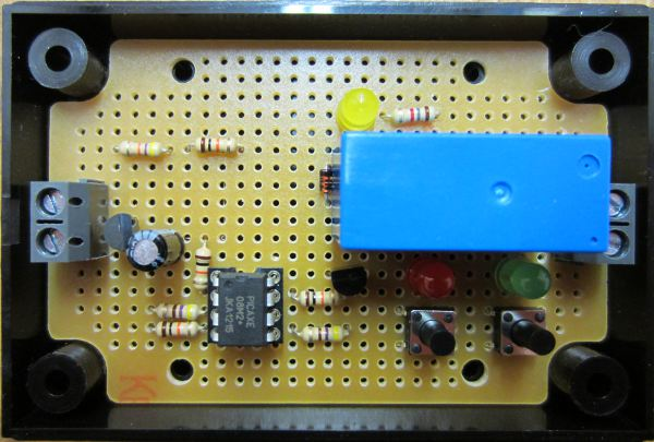 low voltage disconnect with binary entry of cut out and cut in voltages