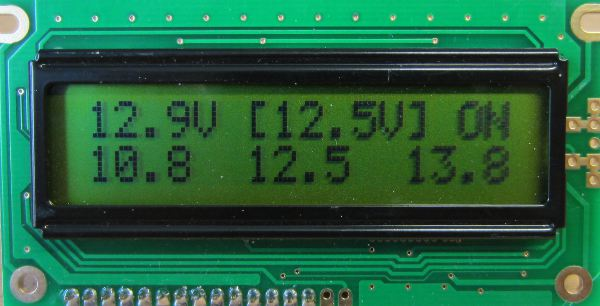 Low Voltage Data : Low voltage disconnect with display and datalogger reuk