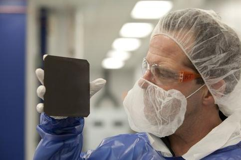 NREL Natcore technology black silicon solar cell