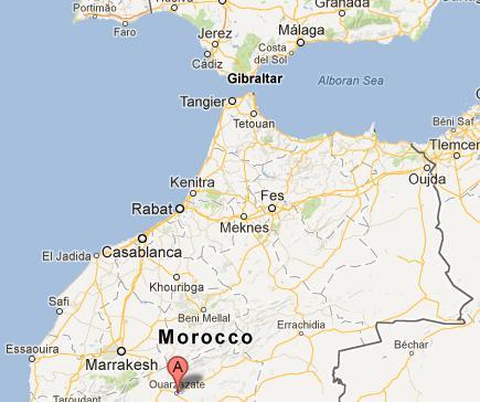 Ouarzazate morocco CSP solar power plant
