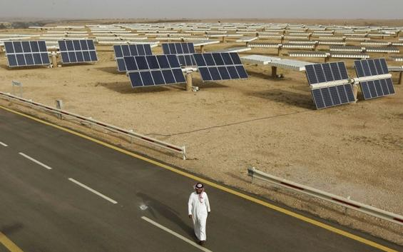 solar power boom in saudi arabia