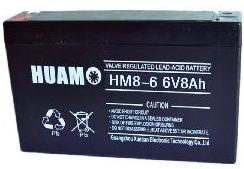 6 volt 8ah agm battery
